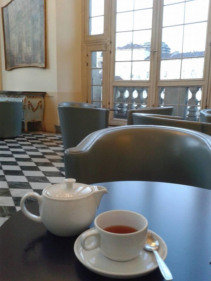 Un tè a Palazzo Madama a Torino