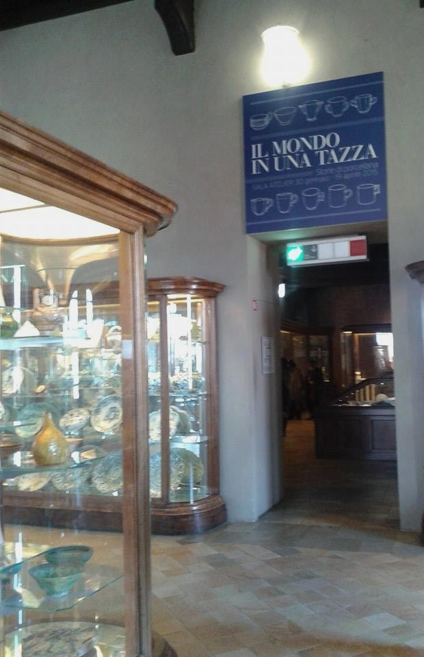 """La mostra """"Il Mondo in una Tazza"""" al secondo piano di Palazzo Madama."""