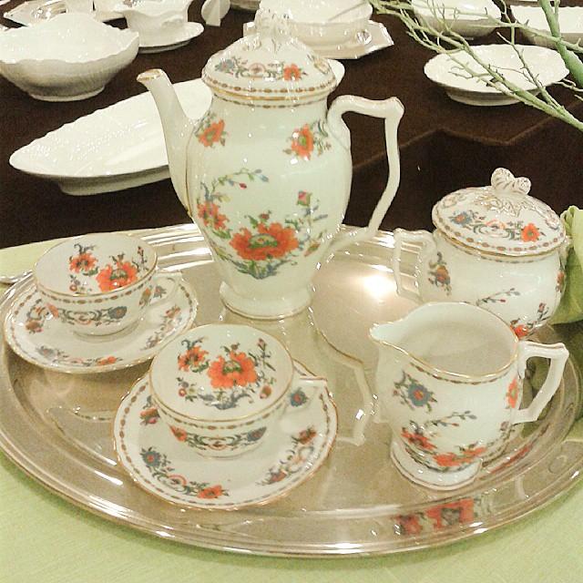 """Servizio da tè - """"Il tempo per una tazza"""" - Prochet - Torino"""